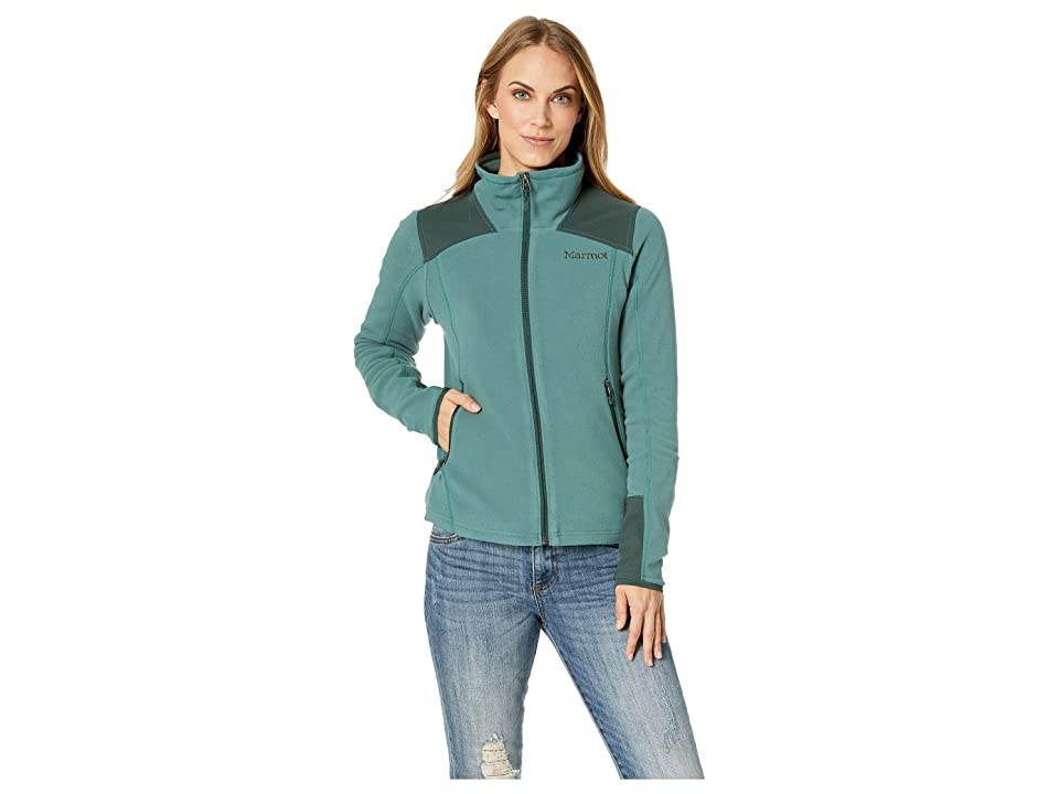 Marmot Flashpoint Jacket (Mallard Green/Dark Spruce) Women