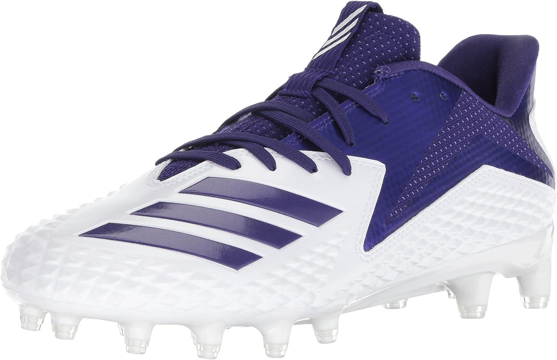 Adidas Men's Freak X Carbon Footwear White Core Purple Ankle-High Baseball shoes - 15M