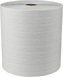 Scott Essential (formerly Kleenex) Hard Roll Paper Towels (11090) with Premium Absorbency Pockets, White, 6 Rolls / Case, 3,600 feet - Same Kleenex quality, now Scott branded