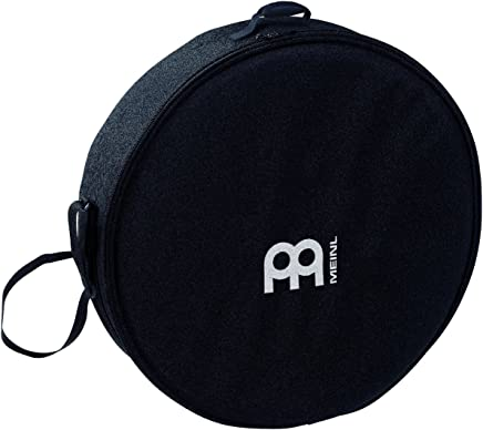 """Meinl Percussion 22"""" Frame Drum Bag with Shoulder Strap - Heavy Duty Nylon, Double Slide Zipper and Carrying Grip MFDB-22"""