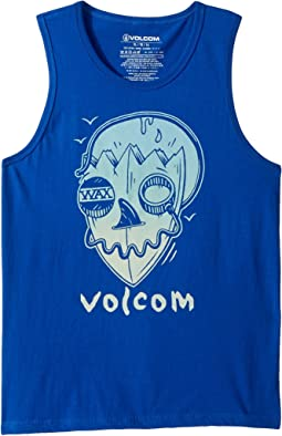 Surf Skull Tank Top (Big Kids)