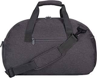20 inch Sport Duffle Bag,Gym Bag Lightweight with Shoes Compartment (Grey)