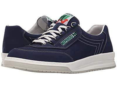 Mephisto Match (Navy Nubuck) Men
