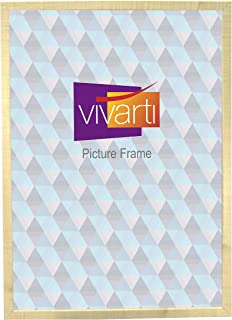 Thin Maple Natural Finish Picture Frame, A2 Size, 59.4 x 42 cm,