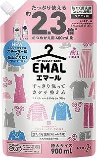 【大容量】エマール(EMAL)洗濯洗剤 液体 アロマティックブーケの香り 詰め替え900ml