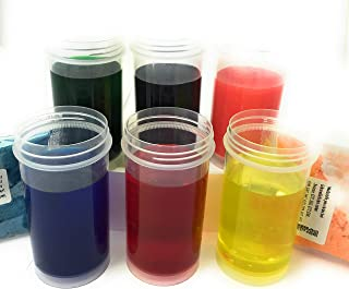 colorantes alimentarios de polvo soluble 6 x 12ml (10g)