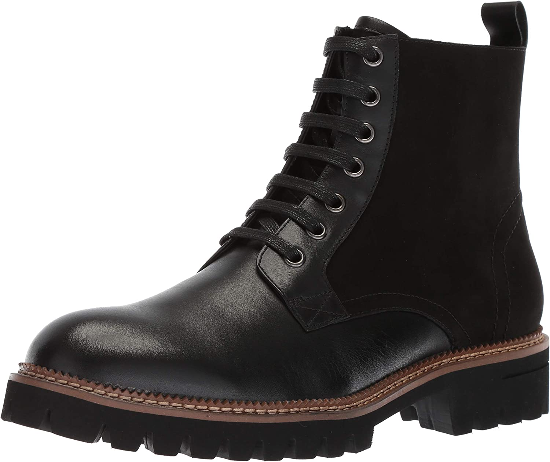 ZANZARA Men's Millet Fashion Boot Black 12 M US