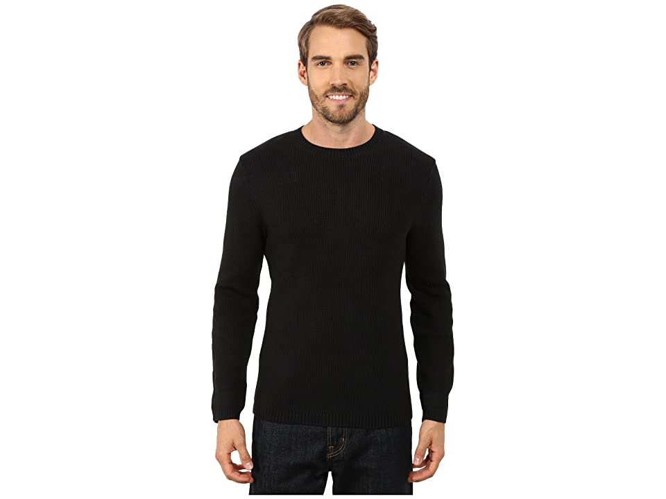 Toad&Co Emmett Crewneck Sweater (Black) Men