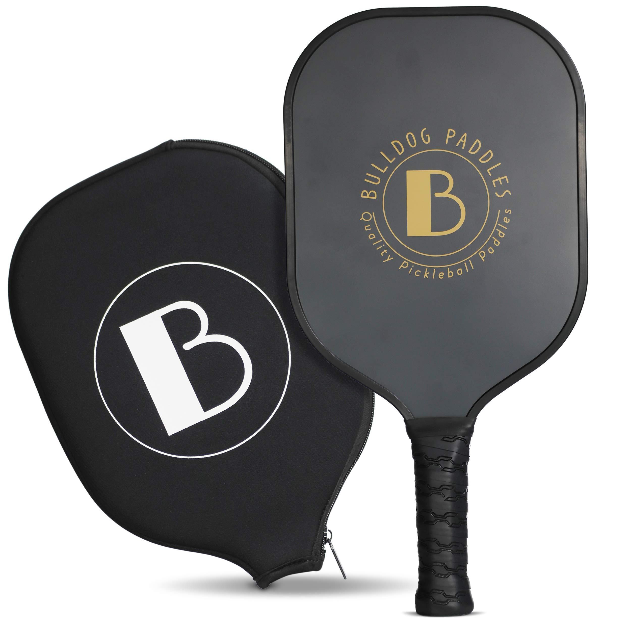 Bulldog Paddles Graphite Pickleball Paddle - Pickle Ball Pad