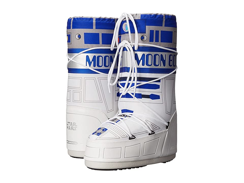 Tecnica Moon Boot(r) Star Wars(r) R2-D2 (White/Blue/Silver) Work Boots