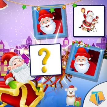 Merry Christmas Game   Memory Match Puzzle