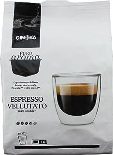 Gimoka Puro Aroma Espresso Vellutato, 100 % Café Arábica,