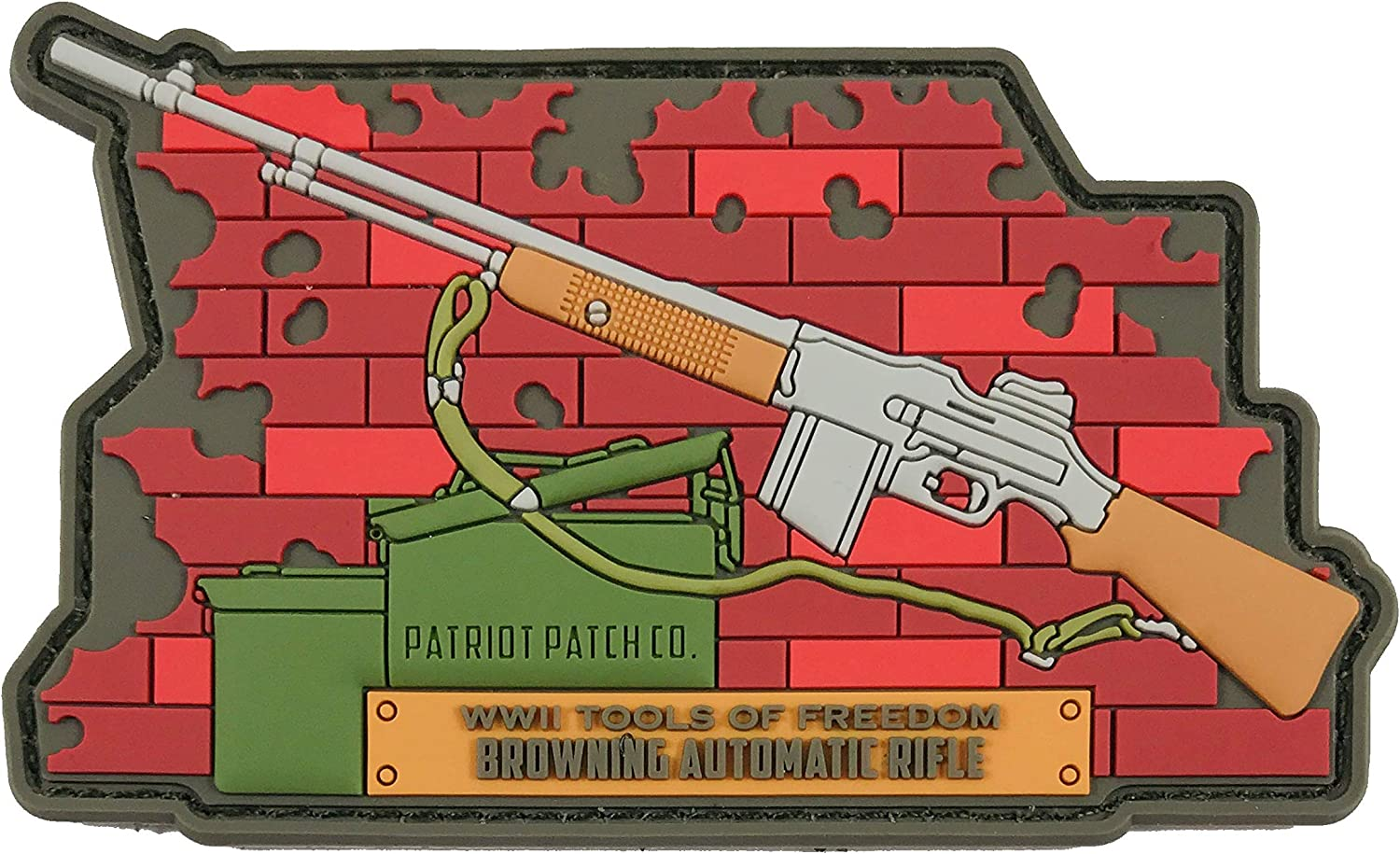 Patriot Patch Co - Gun Patches Historical Austin Mall WWII New product