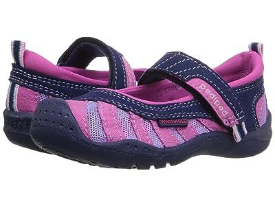 pediped Minnie Flex (Toddler/Little Kid) (Navy/Pink) Girls Shoes