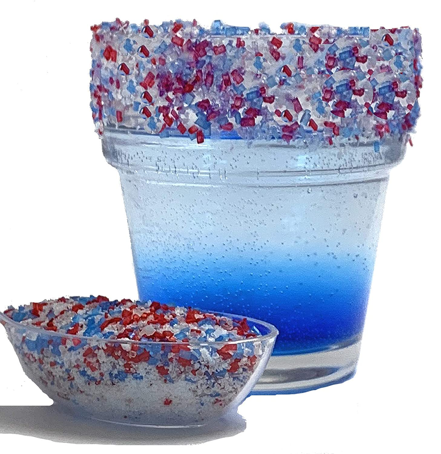 Snowy River 4th July Cocktail Salt - Fashion B Bombing new work Kosher Natural Red White