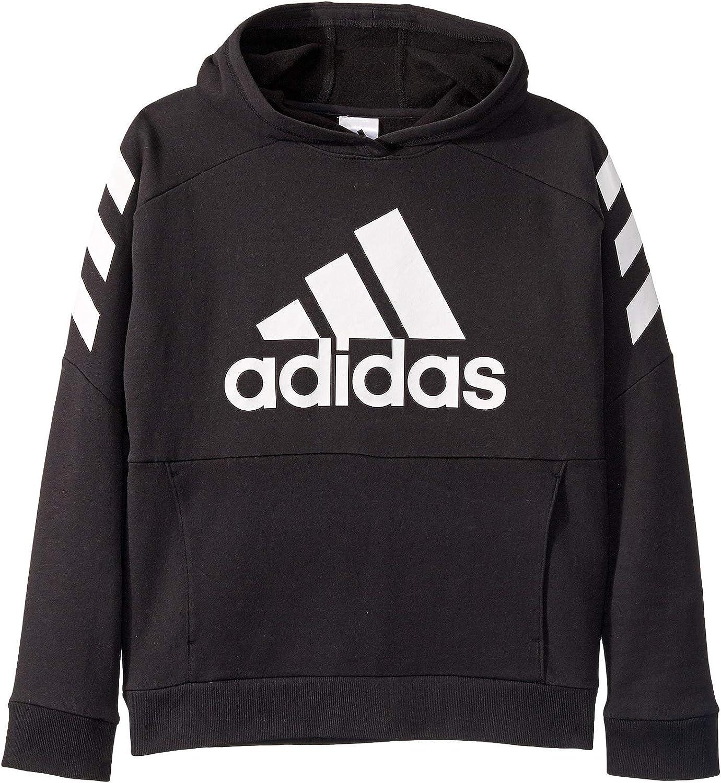 Amazon Com Adidas Kids Boy S Block Pullover Hoodie Clothing [ 1500 x 1374 Pixel ]