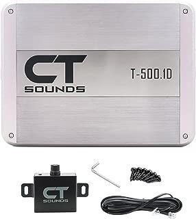 CT Sounds T-500.1 Monoblock Car Amplifier 500w Amp