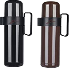 B EVENT Vacuum Insulated Stainless Steel Coffee Tea Water Bottle – Leak Proof BPA Free Hydro Flasks for Sport Travel Home ...