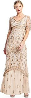 Adrianna Papell Women's Covered Beaded Dress