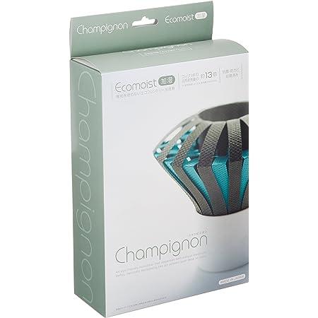 CCP エコモイスト加湿器 【シャンピニオン】 自然気化式 <電気不要> グリーン×ブルー LA-EC36-GB