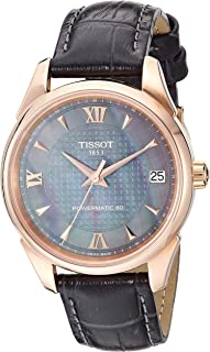 Womens Vintage Swiss Automatic Steel And 18K Gold Dress Watch (Model: T9202077612800)