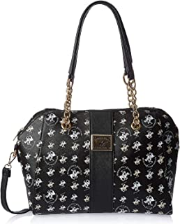 Beverly Hills Polo Club Satchel for Women- Black