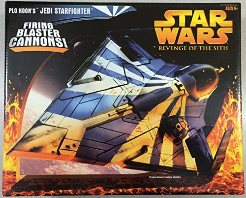 Star Wars Revenge of the Sith Target Exclusive Plo Koon's Jedi Starfighter by Hasbro