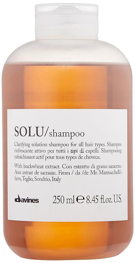 下線ビジネス専制ダヴィネス Solu Clarifying Solution Shampoo (For All Hair Types) 250ml/8.45oz並行輸入品