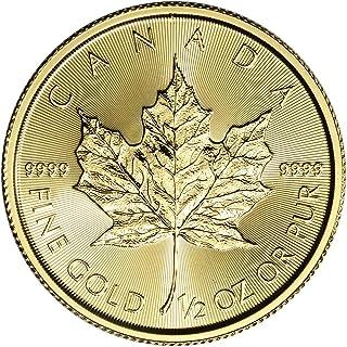 TEN OUNCES 20 coins Mint Sealed Roll 2015 1//2 oz $2 Canada Silver Eagle BU