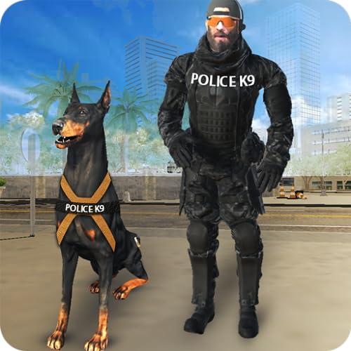 Crime City Police Dog Games