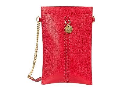 See by Chloe Tilda Clutch (Red Flame) Handbags