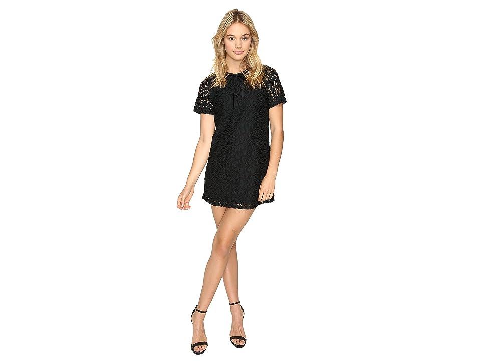ROMEO & JULIET COUTURE Lace Dress (Black) Women