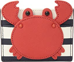 Kate Spade New York - Shore Thing Crab Applique Card Holder