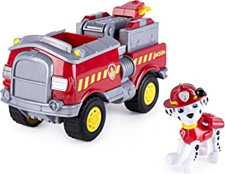 Paw Patrol - Marshalls Forest Fire Truck Vehicle - Figure and Vehicle