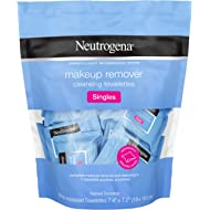 Neutrogena Makeup Remover Cleansing Towelette Singles, Daily Face Wipes To Remove Dirt, Oil,...