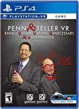 Penn & Teller VR: Frankly Unfair Unkind Unnecessary & Underhanded - PlayStation 4