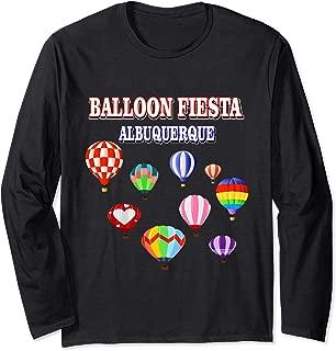 Hot Air Balloon Albuquerque New Mexico Ballooning Fiesta Long Sleeve T-Shirt