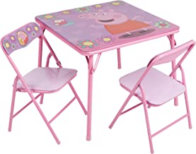 Peppa Pig Activity Table Set with Two Chairs