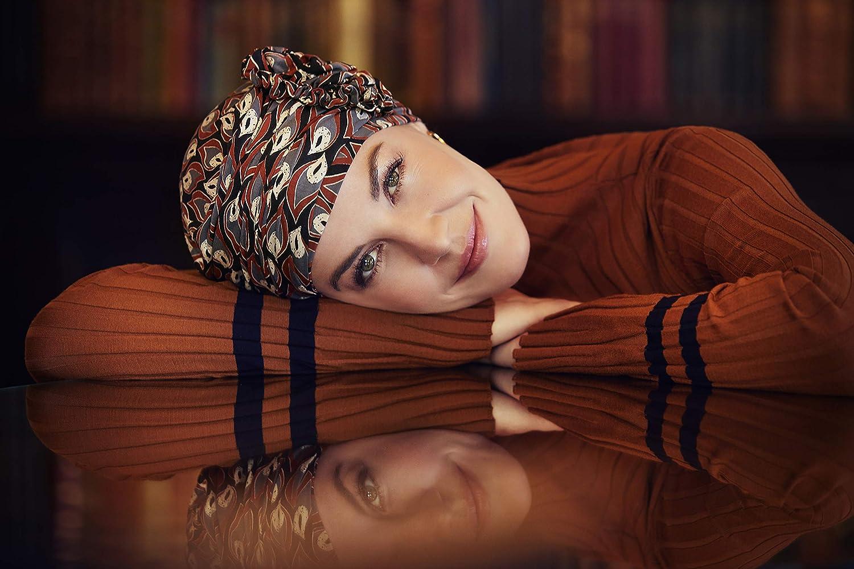 Christine Headwear Turban chimioth/érapie Yoga en Fibres de Bambou