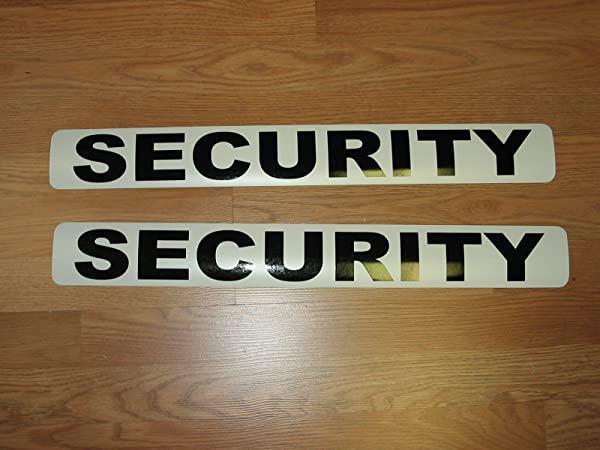 Security Magnetic Signs To Fit Car Tow Truck Van SUV Us Dot Approved