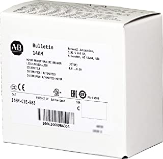 Allen-Bradley 140M-C2E-B63 Motor Protection Circuit Breaker, 4-6.3 A, Std. Performance, Frame C, Supplied by Industrial Spares