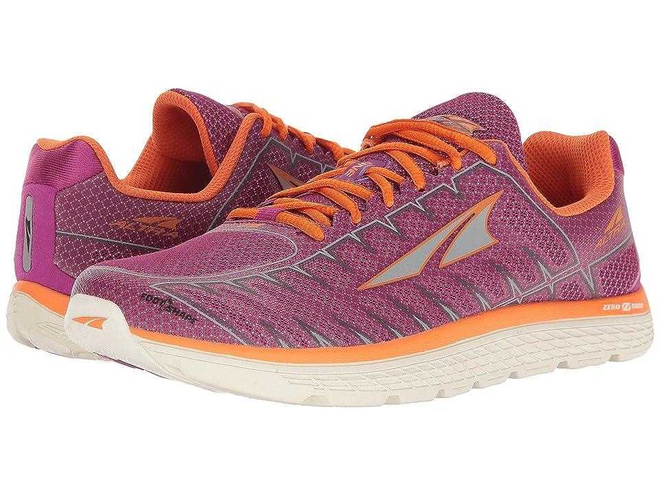 Altra Footwear One V3 (Purple/Orange) Women