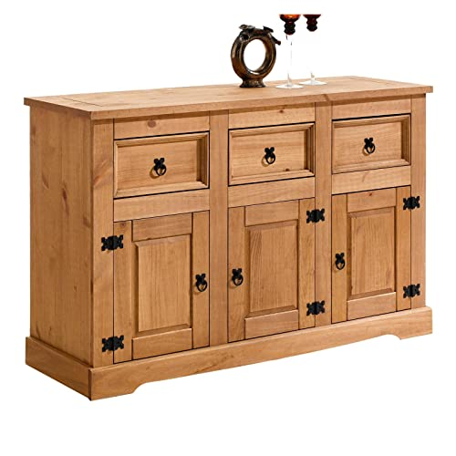 Sideboard Holz Massiv Amazon De