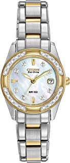 Women's Eco-Drive Diamond-Accented Watch with Date, EW1824-57D