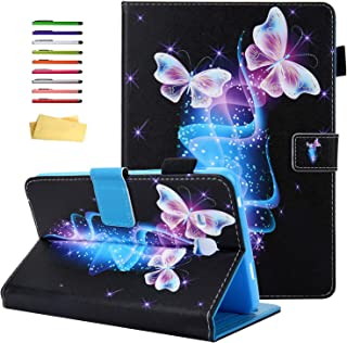 UUcovers for Samsung Galaxy Tab A 7.0 inch Tablet 2016 Case SM-T280/T285, with Pencil Holder Card Slots PU Leather Multipl...