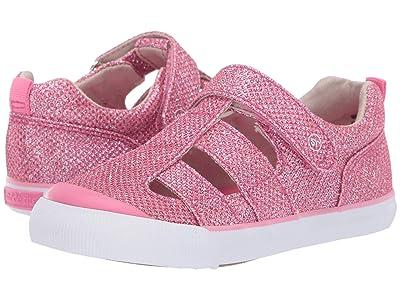 Stride Rite SR Hadley (Toddler) (Pink Sparkle) Girls Shoes