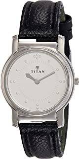 Titan Braille Analog Silver White Dial Men's Watch -NB1855SL01 / NB1855SL01