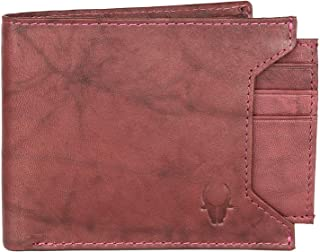 Wildhorn Genuine Leather HandCrafted Bifold Wallet,Ultra Slim with Coin Pocket, Card Slot and Currency Pocket Men Wallets,...