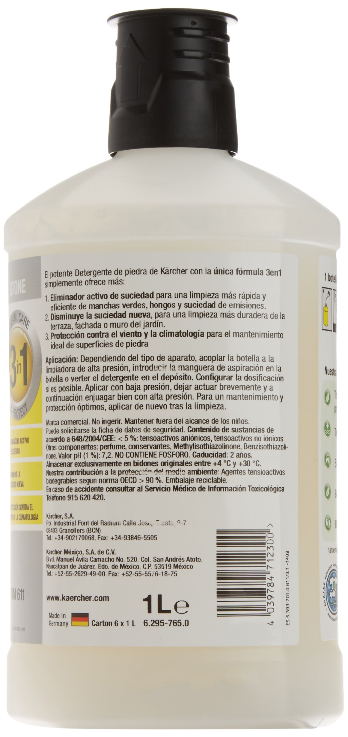 Amazon.es: Kärcher: Detergentes