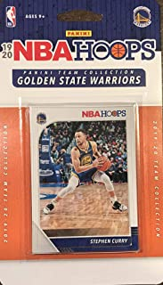 Golden State Warriors 2019 2020 Hoops Basketball Factory Sealed 10 Card Team Set with Stephen Curry and Klay Thompson Plus